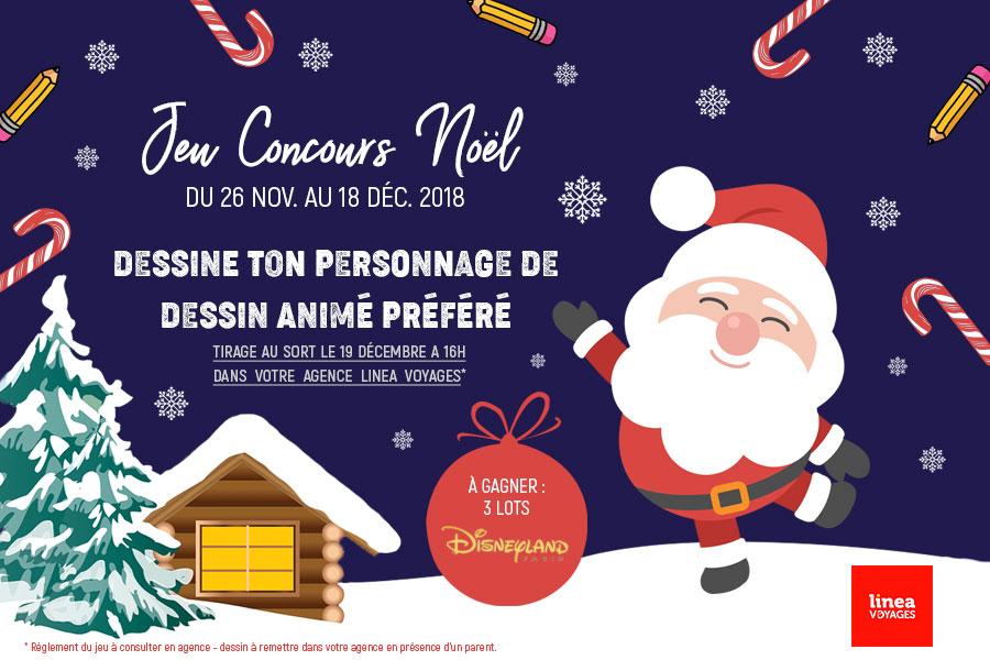 Linea Voyages - Concours de dessin facebook
