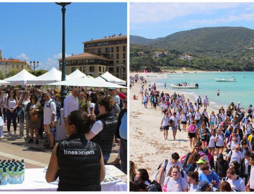 600 PERSONNES EN CORSE AVEC LINEA EVENTS