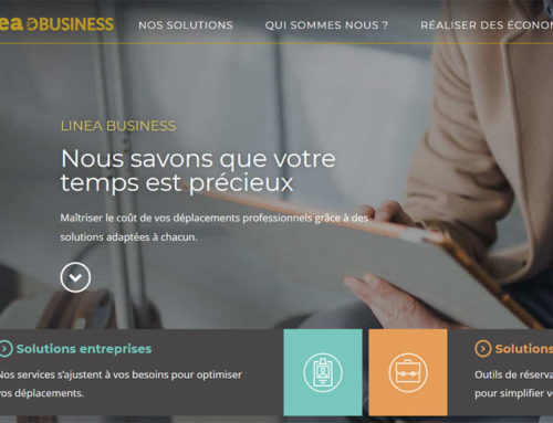 NOUVEAU SITE WEB LINEA BUSINESS