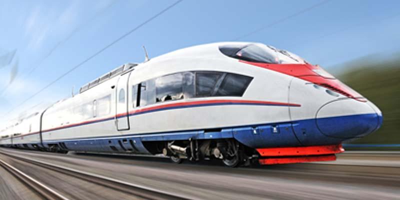 Le train pour un voyage d'affaires